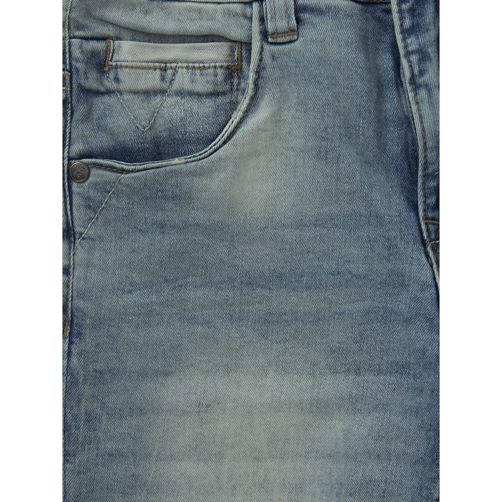 TOM TAILOR Straight-Jeans »Jonas Bermuda Shorts«