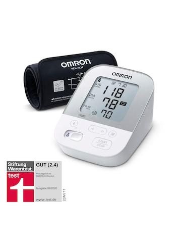 Omron Oberarm-Blutdruckmessgerät »X4 Smart«, mit Bluetooth und Intelli Wrap Manschette kaufen