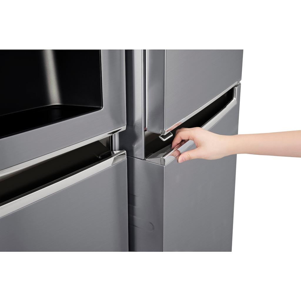 LG Side-by-Side »GSJ761«, Door-in-Door