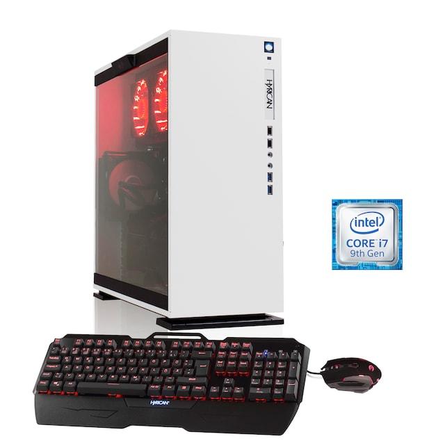 Hyrican Gaming PC i7-9700KF, 32GB, SSD + HDD, RTX 2070 SUPER »Elegance 6429 mit Wasserkühlung«