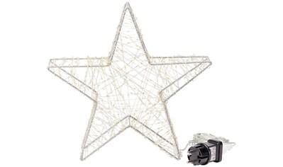LED Stern »Comet«, Warmweiß, Ø ca. 30 cm, mit ca. 600 warmweißen Mini-LEDs kaufen