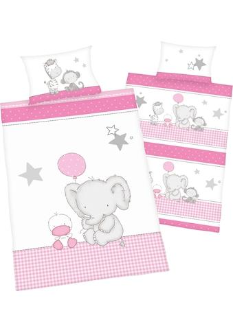 Baby Best Babybettwäsche »Elefant«, mit niedlichem Motiv kaufen