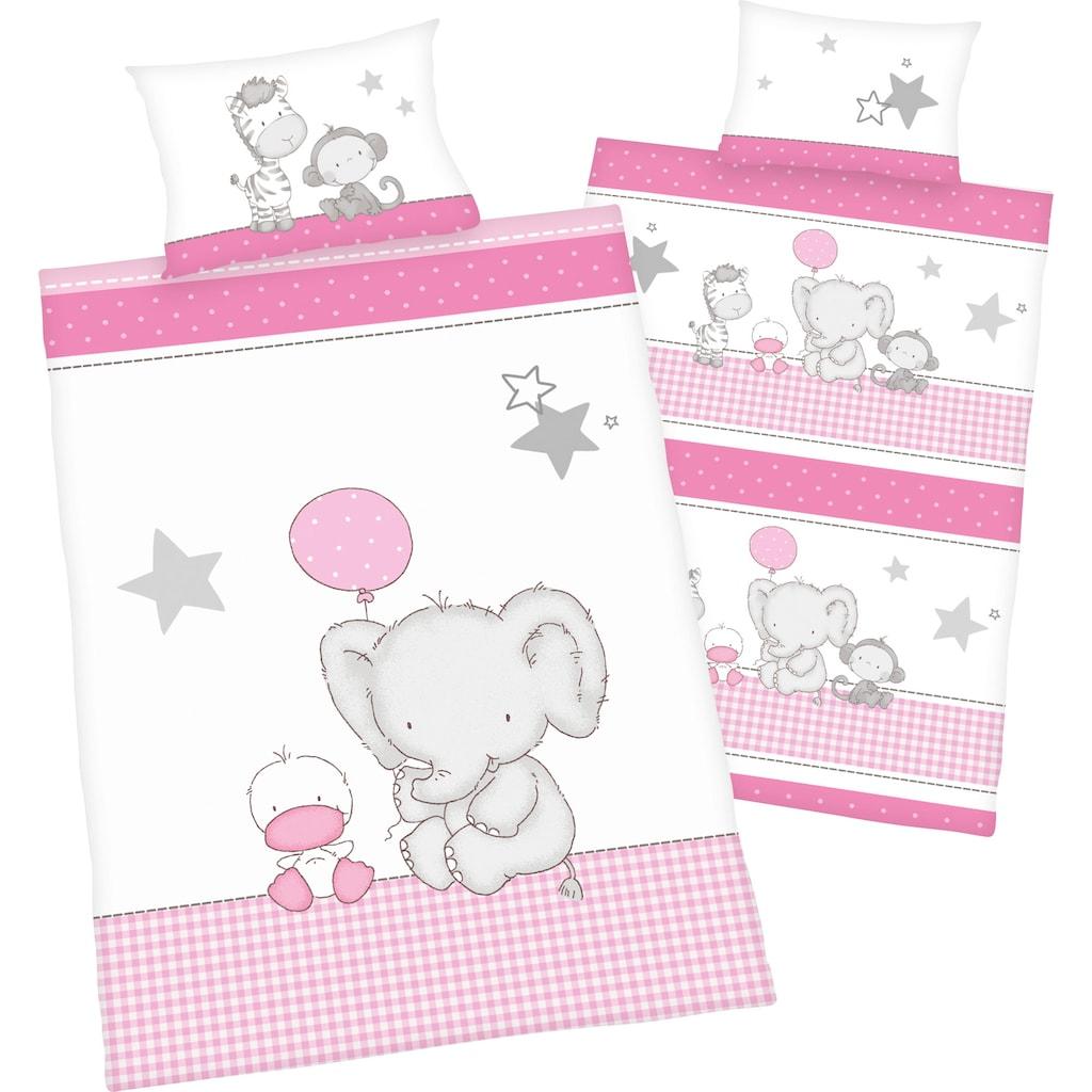 Baby Best Babybettwäsche »Elefant«, mit niedlichem Motiv