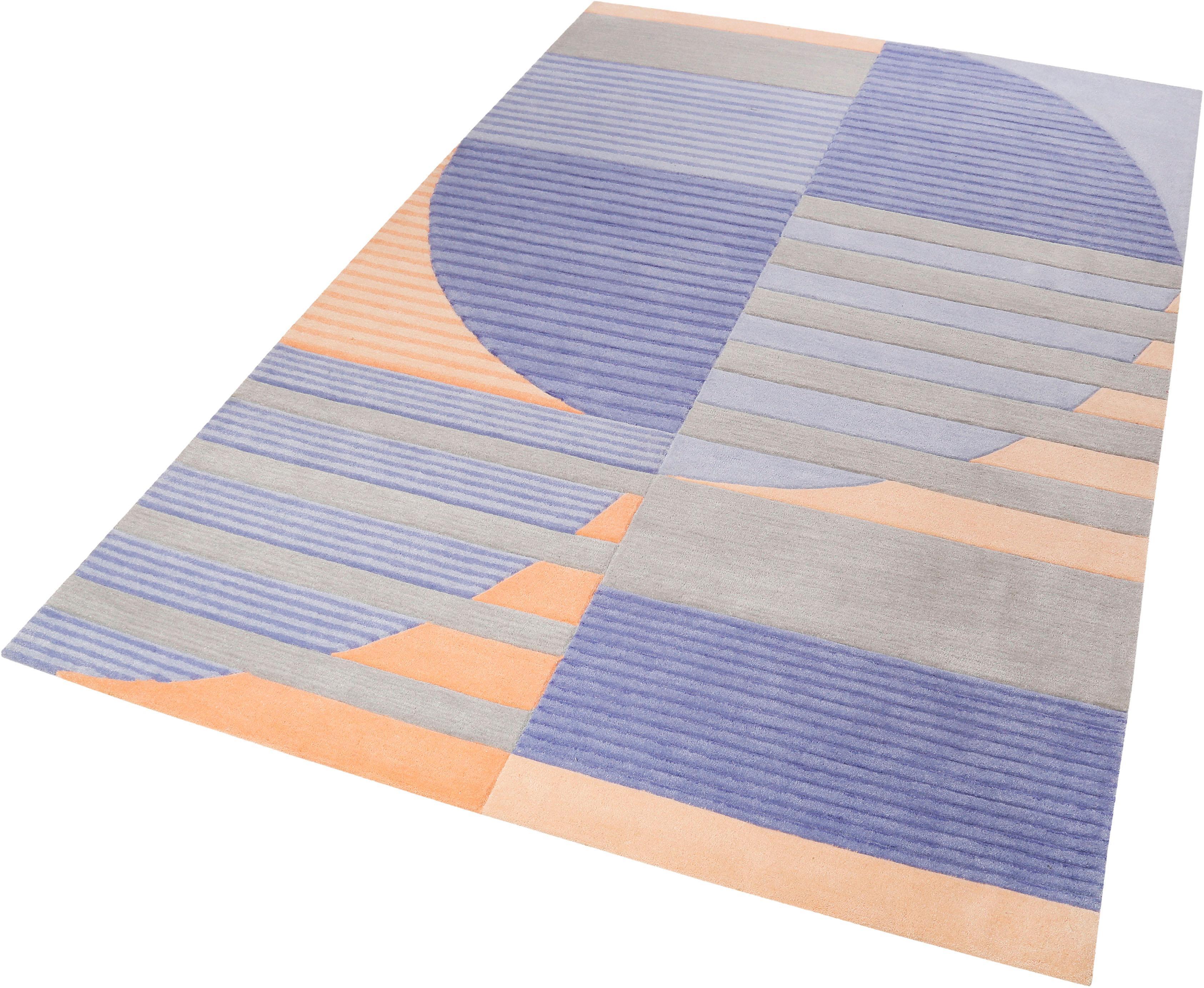Teppich Skybase Esprit rechteckig Höhe 9 mm maschinell getuftet
