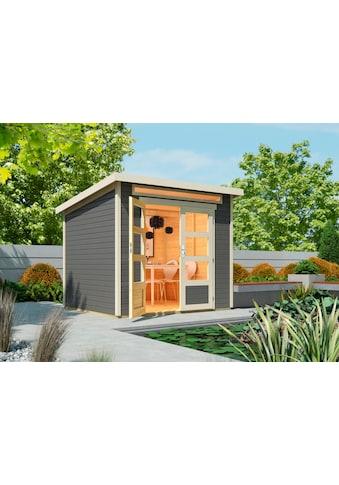 WOLFF FINNHAUS Gartenhaus »Venlo A«, BxT: 265x236 cm kaufen