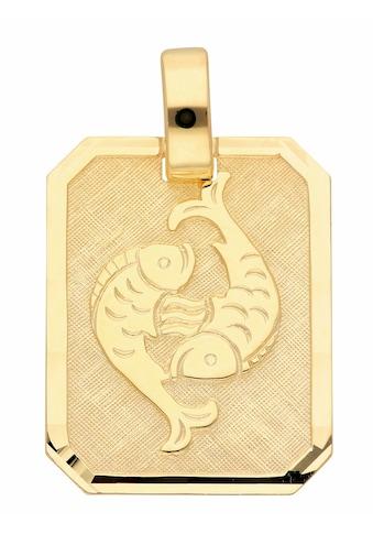 Adelia´s Kettenanhänger »333 Gold Sternzeichen Anhänger Fisch« kaufen
