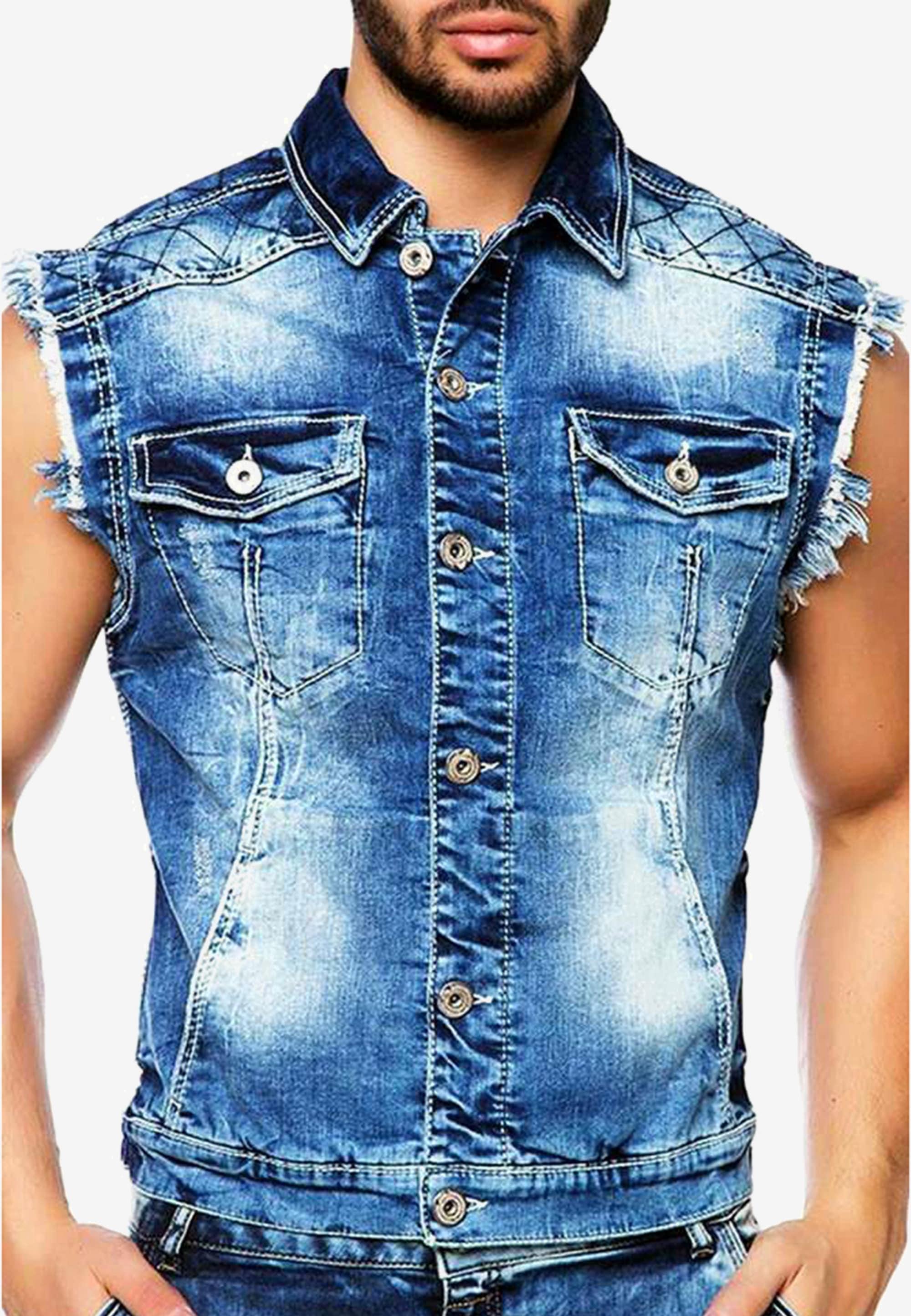 Cipo & Baxx Jeansweste   Bekleidung > Westen > Jeanswesten   Cipo & Baxx