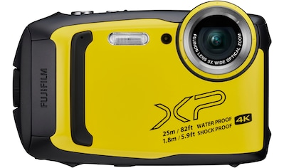 FUJIFILM »Finepix XP140« Outdoor - Kamera (FUJINON, 5 - fach optischem Zoom, F3,9 (W) – F4,9 (T), 16,4 MP, 5x opt. Zoom, Bluetooth WLAN (Wi - Fi)) kaufen