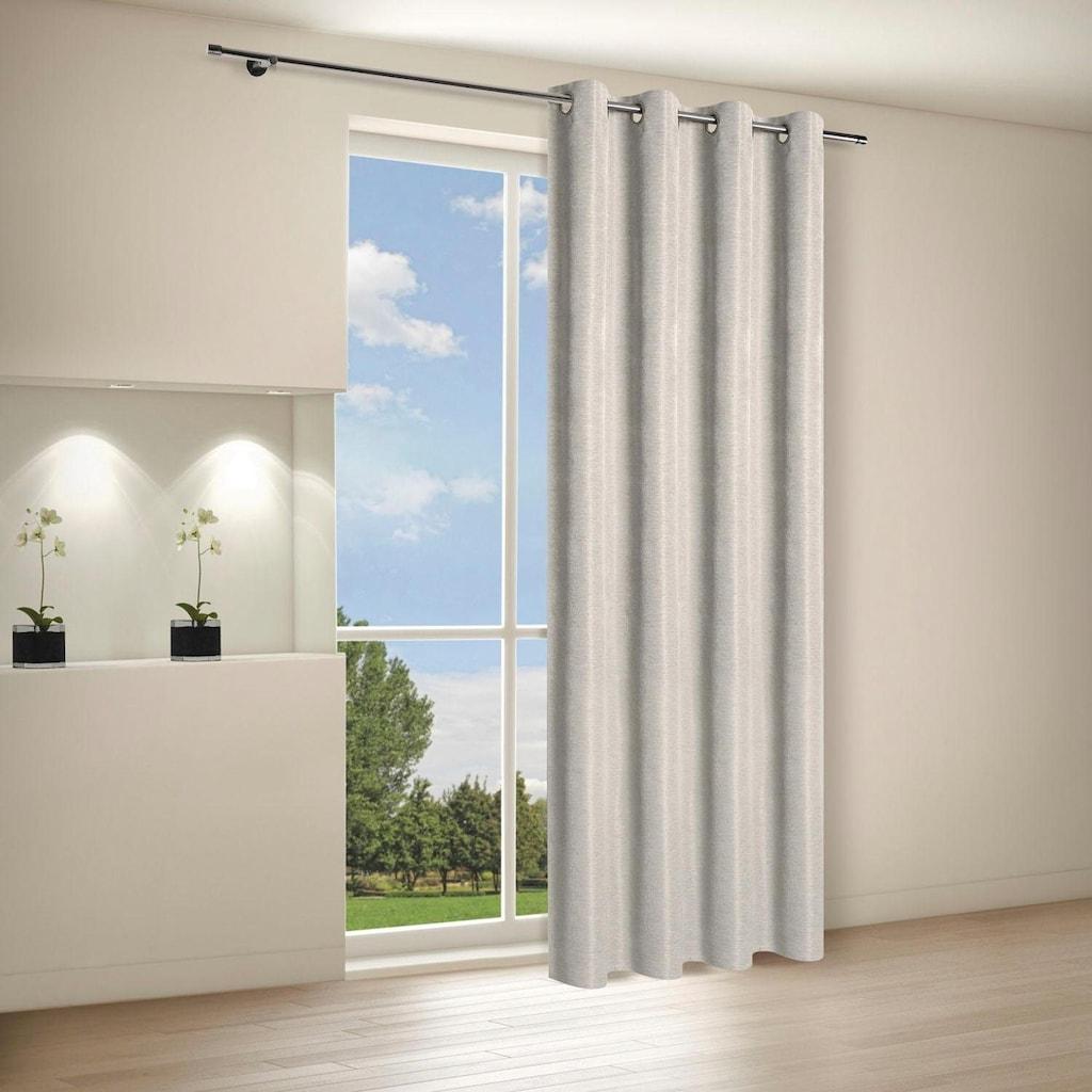 Gerster Vorhang »Malik«, HxB: 235x140, Ösenschal aus Dekostoff
