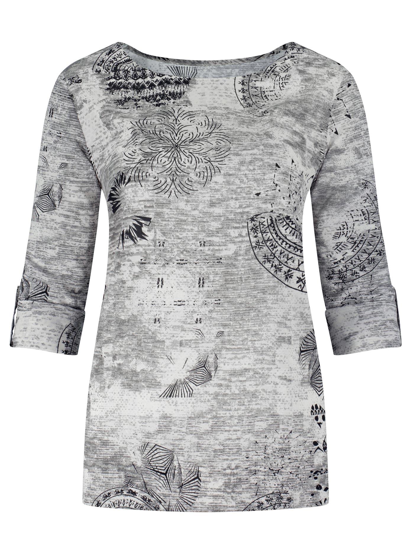 Ambria Bluse mit modischem Print