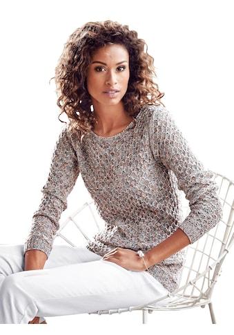 Classic Inspirationen Pullover mit weitem Rundhals - Ausschnitt kaufen