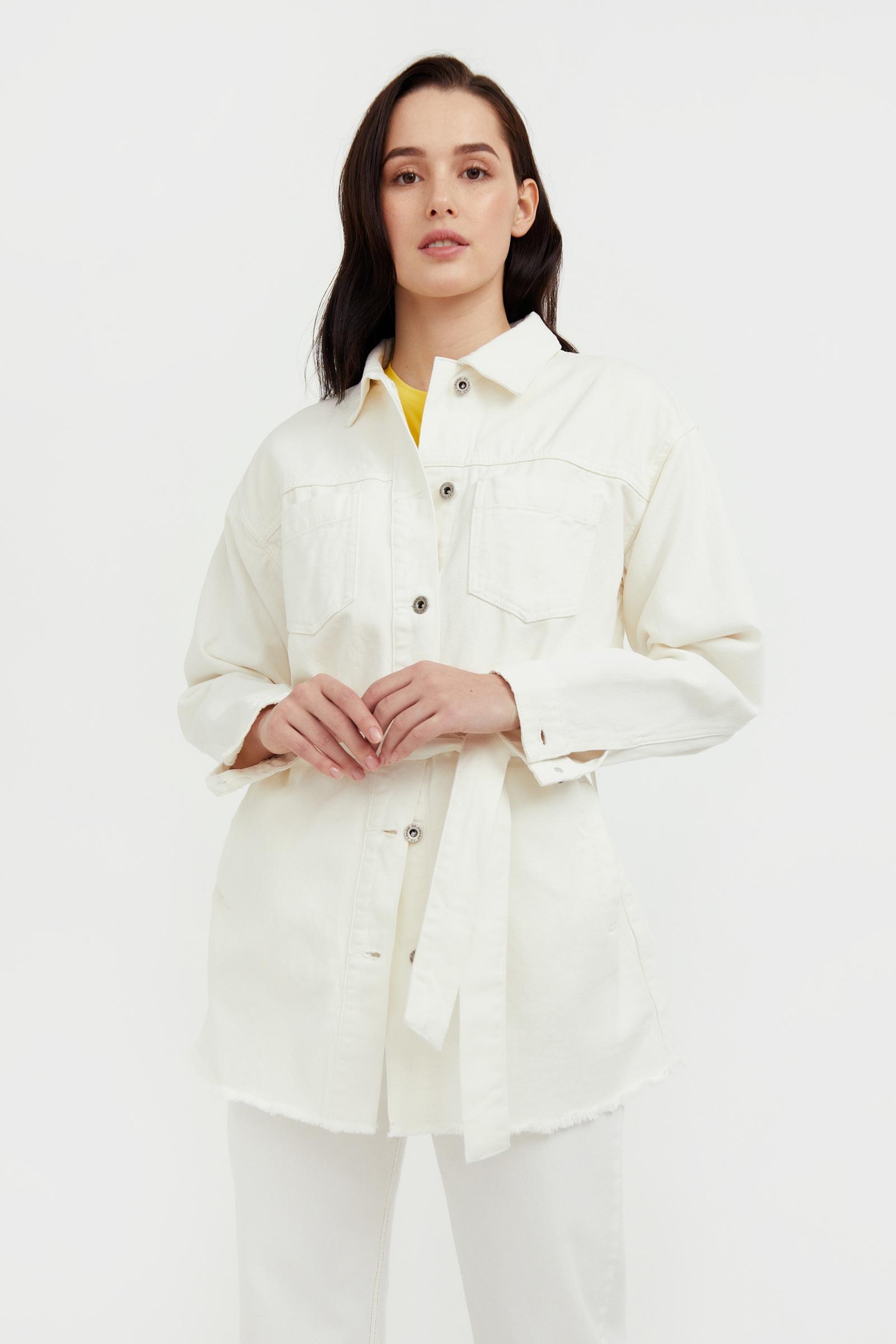 finn flare -  Jeansjacke, mit praktischem Bindegürtel