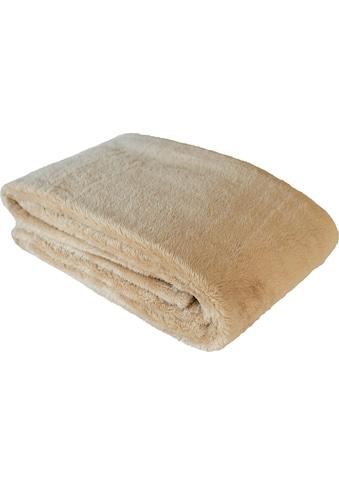 Goldmond Wohndecke »Isonoe«, in Langfelloptik kaufen