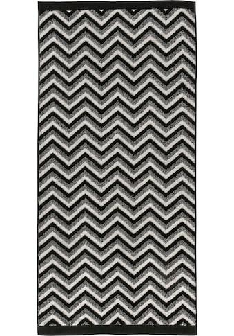 Möve Handtuch »Graphic«, (1 St.), mit Zickzack-Muster kaufen