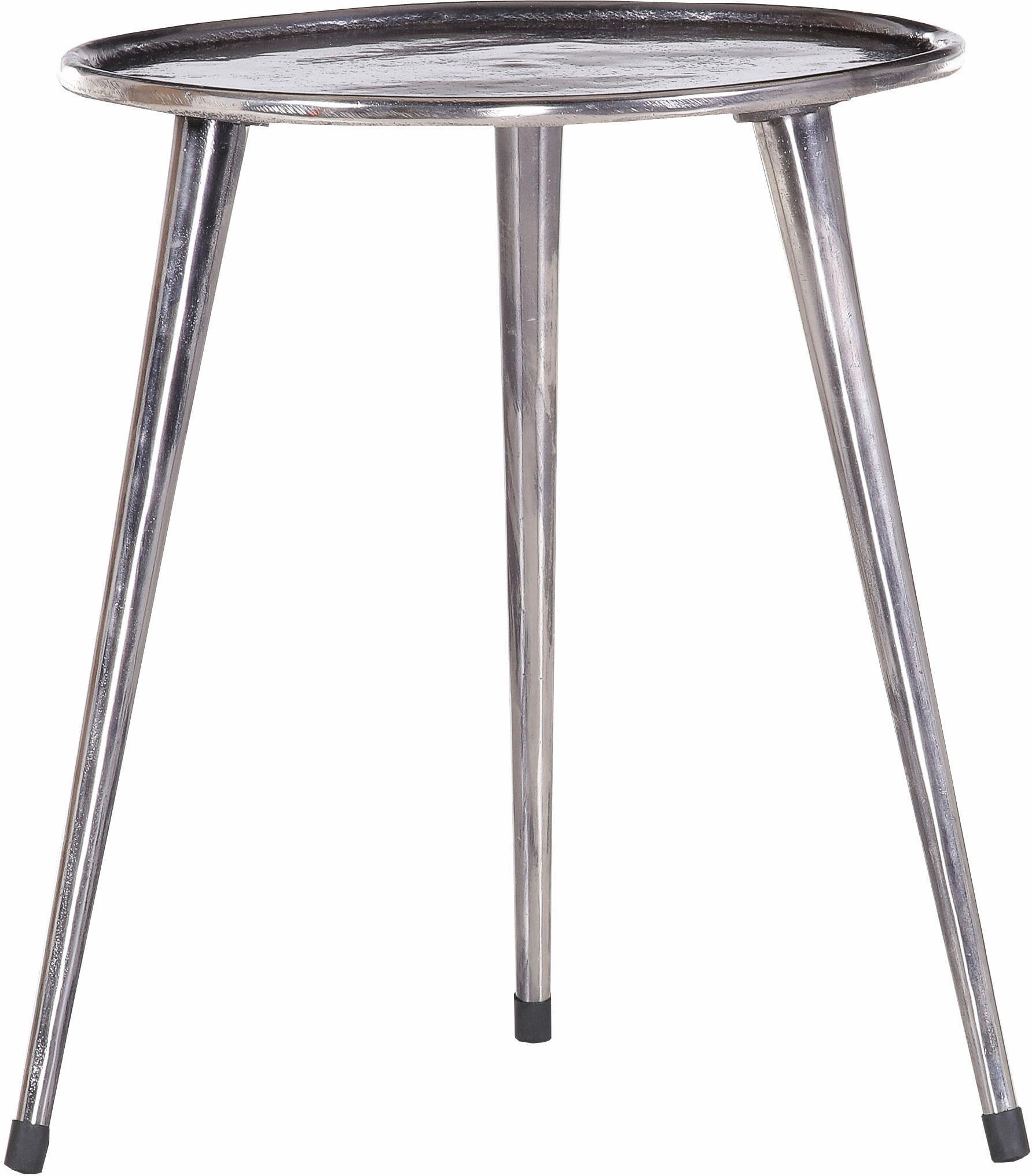 Gutmann Factory Beistelltisch Mix&Match, mit 3 Beinen aus Aluminium schwarz Beistelltische Tische