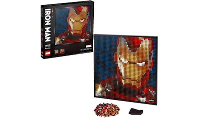 LEGO® Konstruktionsspielsteine »Marvel Studios Iron Man - Kunstbild (31199) LEGO®... kaufen