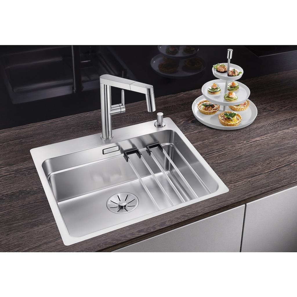 Blanco Küchenspüle »ETAGON 500-IF/A«, inklusive zwei ETAGON-Schienen