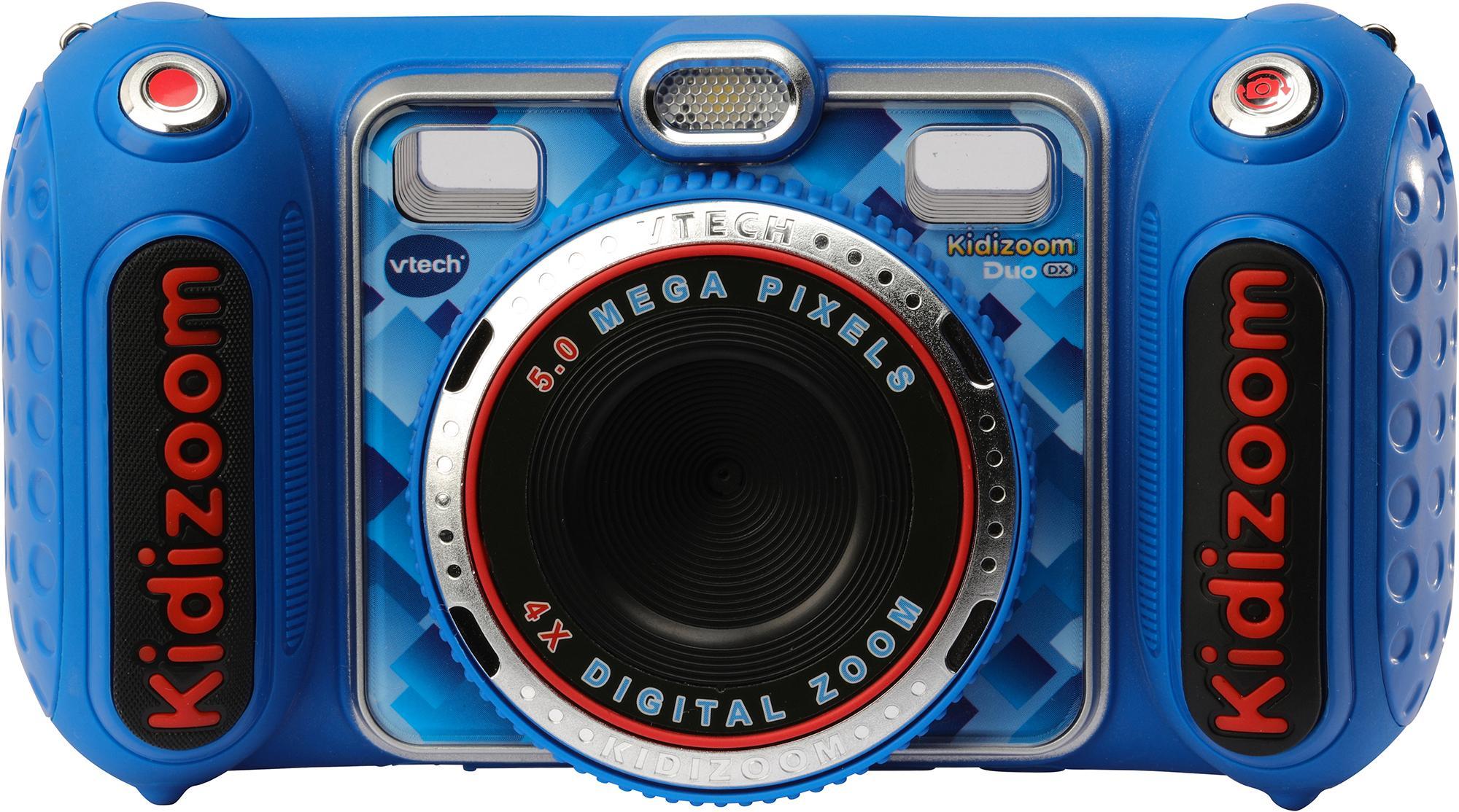 Vtech Kidizoom Duo DX blau Kinderkamera (5 MP) Kindermode/Spielzeug/Lernspielzeug/Kinder-Computer