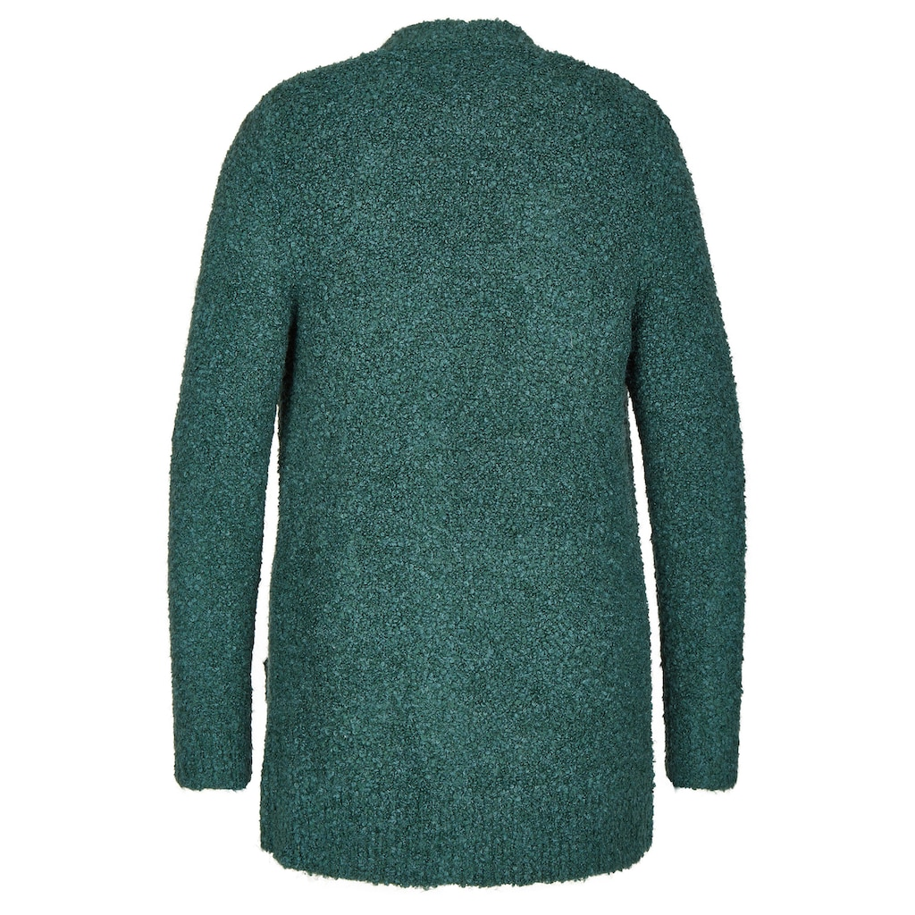 VIA APPIA Aufregender Cardigan mit aufgesetzten Taschen Plus Size