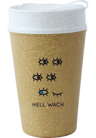 KOZIOL Coffee-to-go-Becher »ISO TO GO HELL WACH«, (1 tlg.), 100% biobasiertes... kaufen