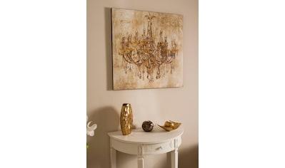 Myflair Möbel & Accessoires Ölbild, Original-Ölbild Kronleuchter 80/80 kaufen