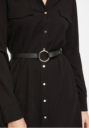 Comma Blusenkleid, mit Gürtel in Lederoptik kaufen