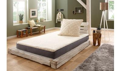 f.a.n. Schlafkomfort Matratzenauflage »Lammflor«, hohe klimaregulierende Wirkung kaufen