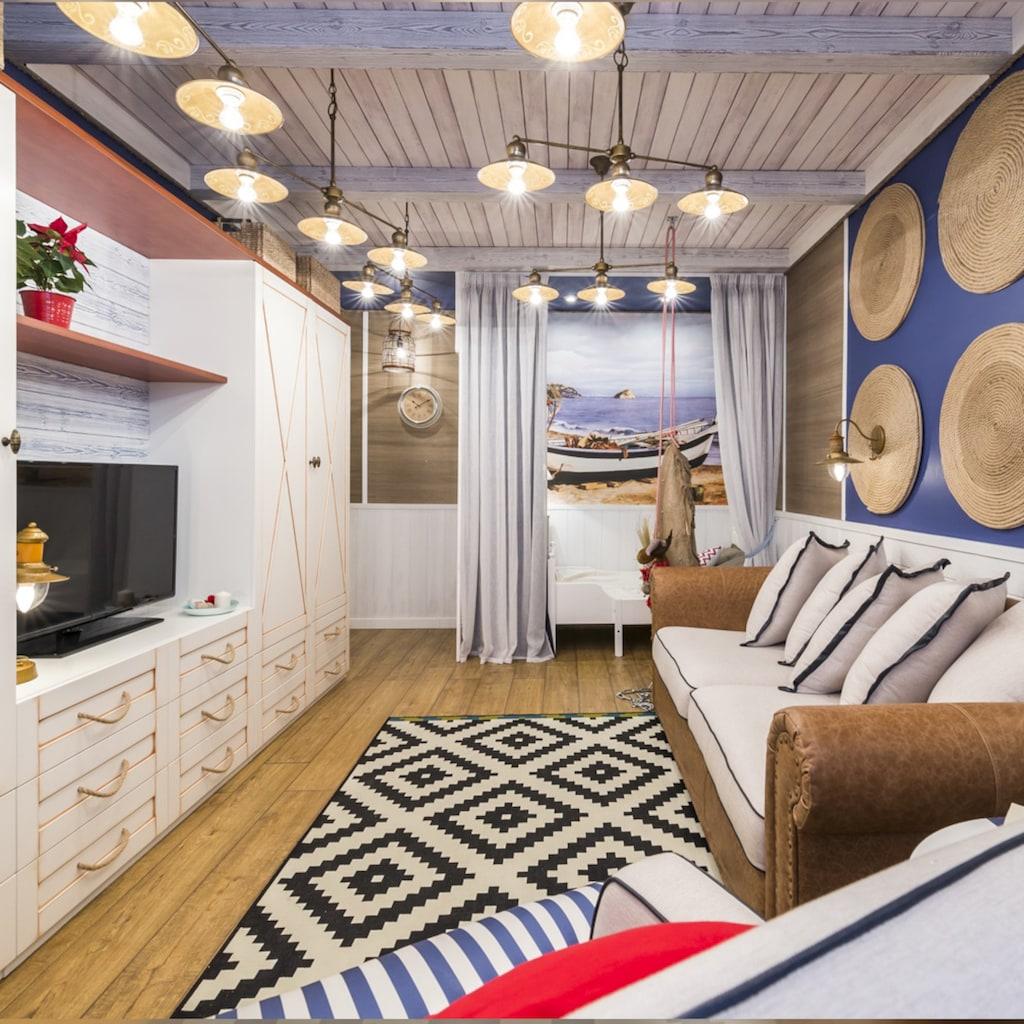 FAVOURITE Hängeleuchte »Magrib«, in zeitgenössischem Landhaus-Stil