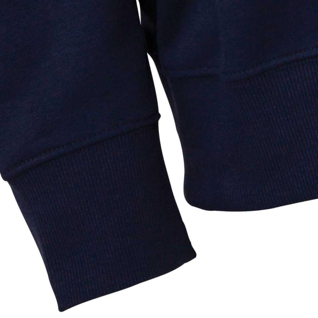 Kappa Sweatshirt »SWEATSHIRT«, mit angesagtem Rundhalsausschnitt<br />