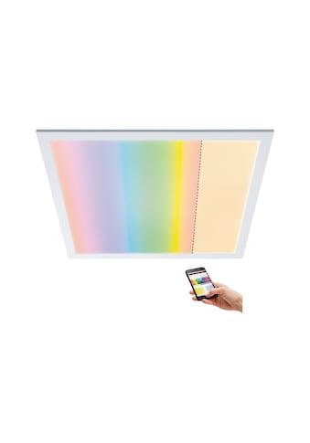 Paulmann LED Panel »Smart Home Amaris ZigBee RGBW eckig 595x595mm Weiß matt 35W 2.700K«, 1 St., Warmweiß kaufen