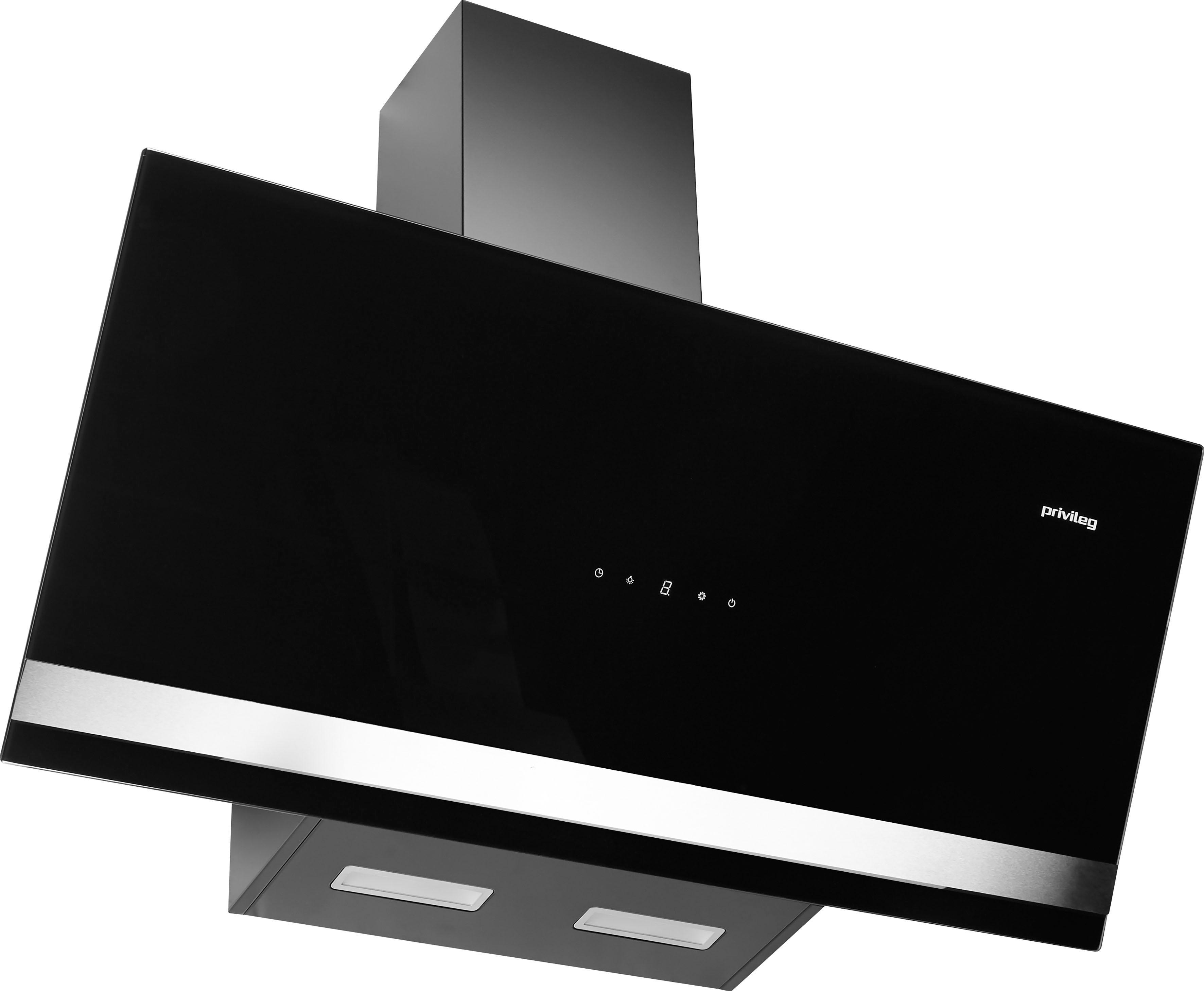 Privileg Kopffreihaube SY-103E13-E4-C55-L52-900 EEK A schwarz Kopffreihauben Dunstabzugshauben Haushaltsgeräte Dunstabzugshaube