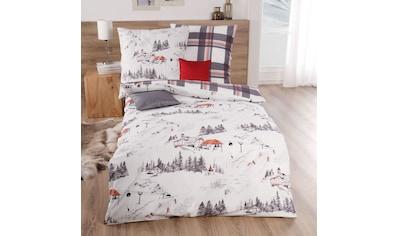TRAUMSCHLAF Bettwäsche »St. Anton«, warmes weiches Winterdesign kaufen