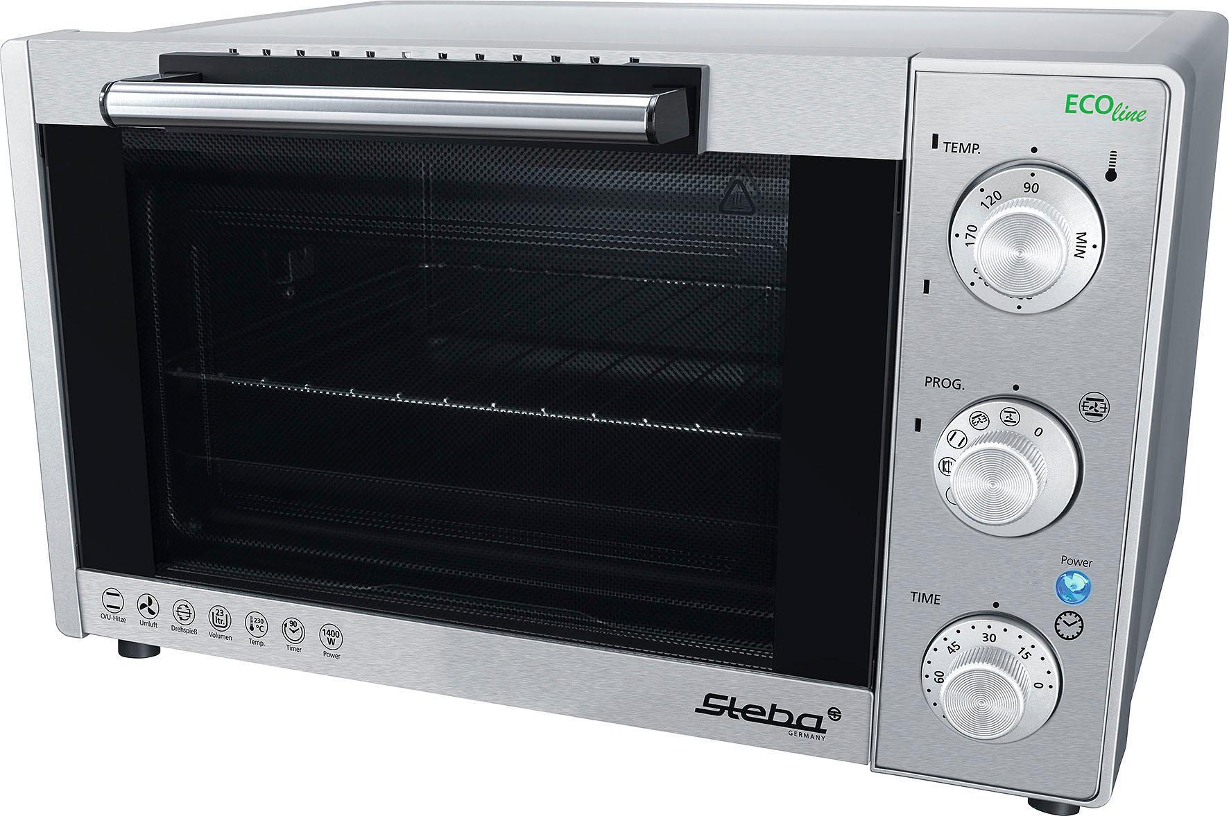 Steba Minibackofen KB 23 ECO 1400 W | Küche und Esszimmer > Küchenelektrogeräte > Küche Grill | Steba