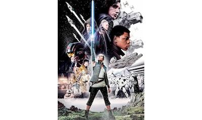 KOMAR Set: Fototapete »Star Wars – Balance«, Ausgezeichnet lichtbeständig kaufen