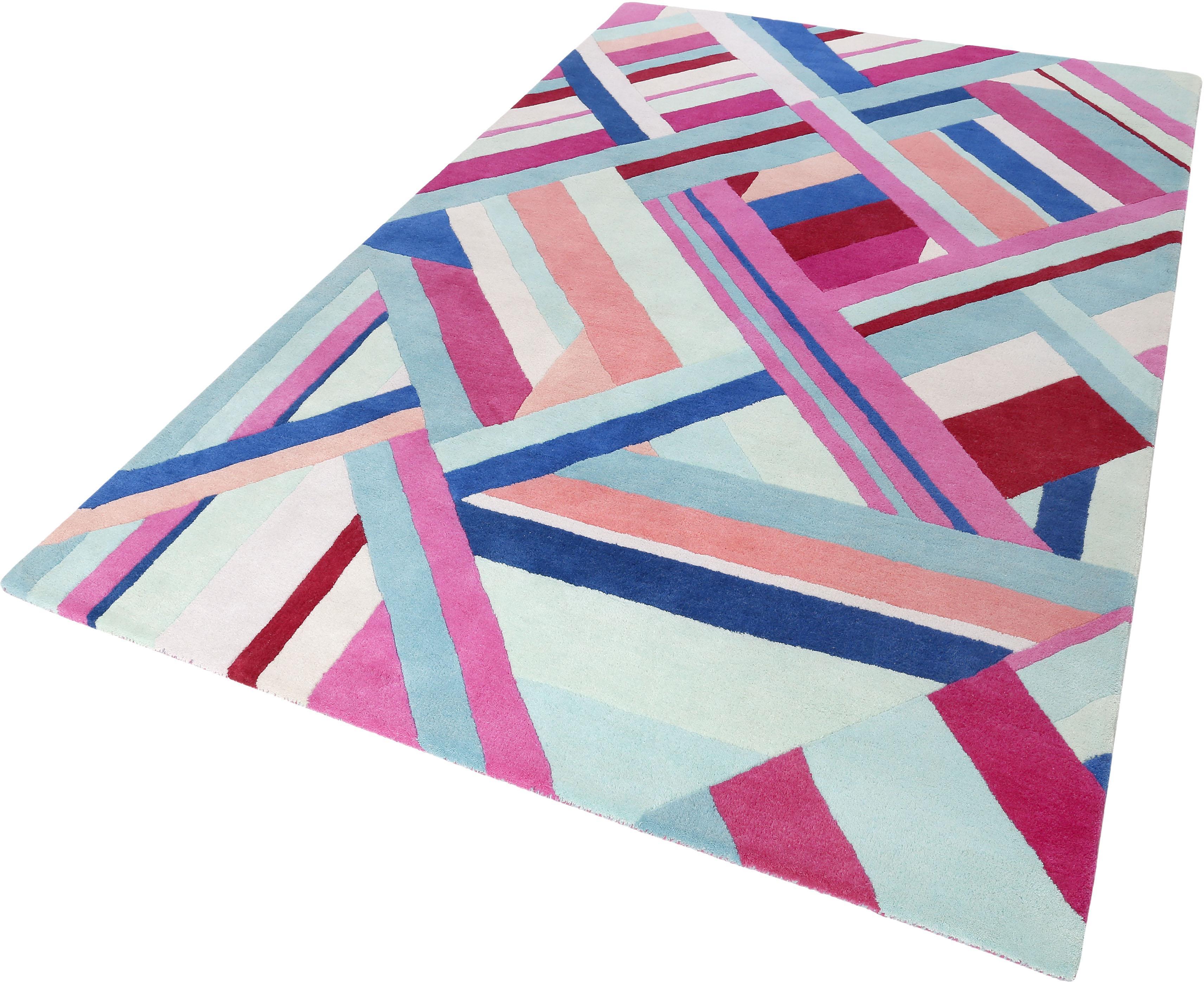 Teppich Linear Accessorize Home rechteckig Höhe 16 mm handgetuftet