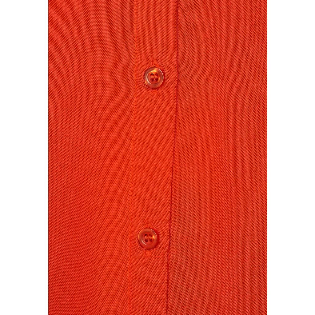 STREET ONE 3/4-Arm-Shirt, in Blusen-Optik