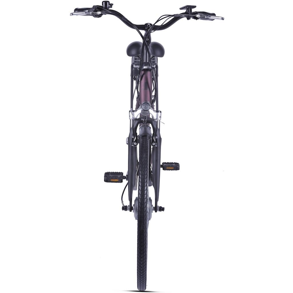 LLobe E-Bike »Metropolitan JOY rot 10 Ah«