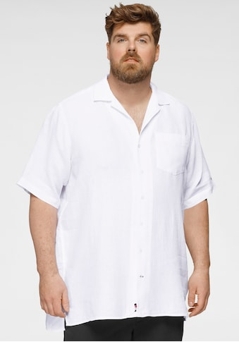 Tommy Hilfiger Big & Tall Kurzarmhemd »BT-PIGM DYED LI CAMP SHIRT« kaufen