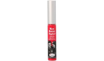 """theBalm Lipgloss """"Meet Matte Hughes"""" kaufen"""