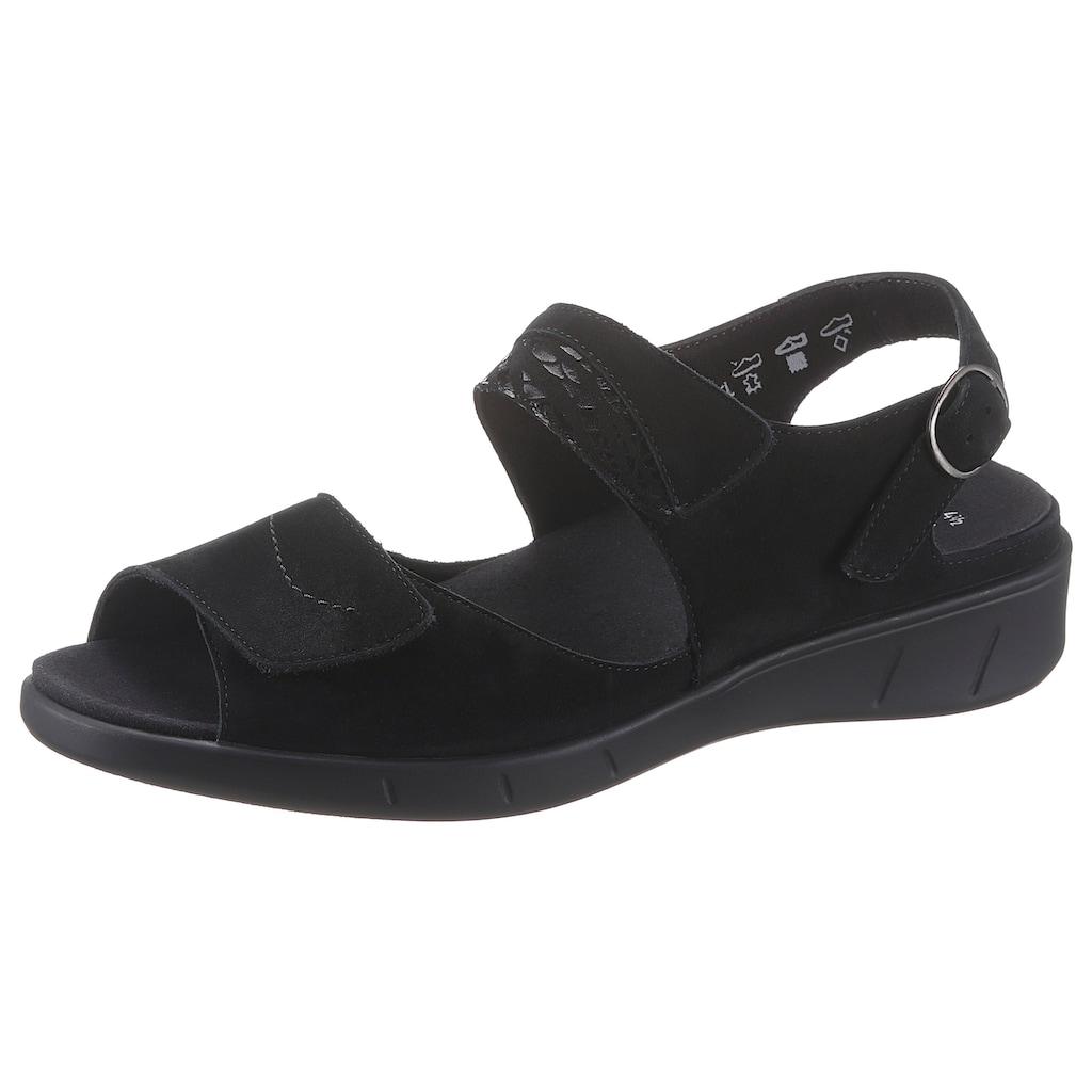 SOLIDUS Sandale »HAPPY«, mit Wechselfußbett