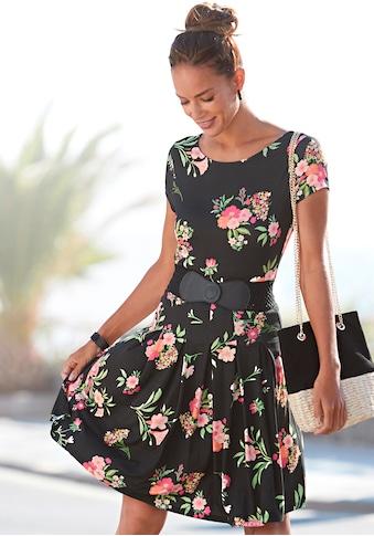 Vivance Druckkleid, mit Blumenmuster kaufen
