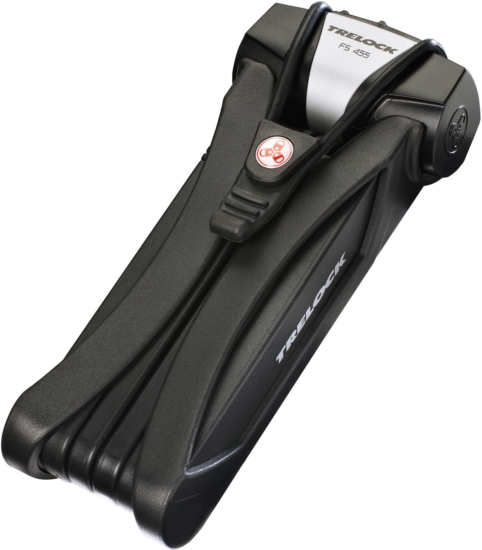 Trelock Faltschloss FS 455/85 COPS (mit Halterung) Preisvergleich
