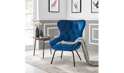 andas Sessel »Steen«, mit einem Metallgestell und einem pflegeleichten, weichen... kaufen