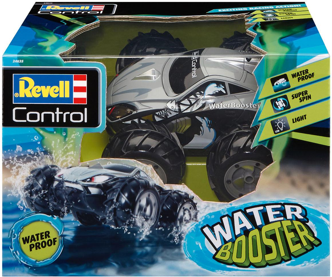 Revell RC-Monstertruck control, Stunt CarWater Booster bunt Kinder Ab 6-8 Jahren Altersempfehlung Fernlenkfahrzeuge