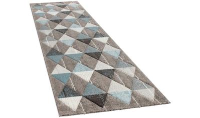 Paco Home Läufer »Lara 234«, rechteckig, 18 mm Höhe, Wohnzimmer-Teppich in schönen... kaufen