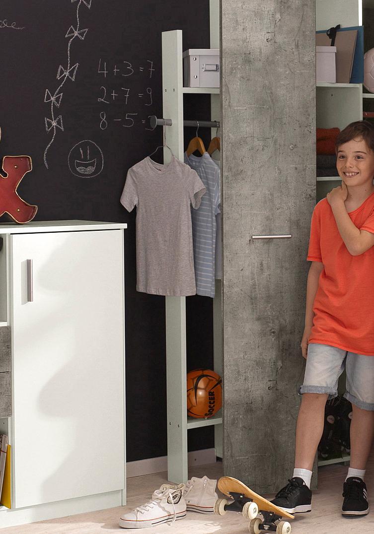 Wimex Kleiderstange Joker weiß Zubehör für Kleiderschränke Möbel Kleiderstangen