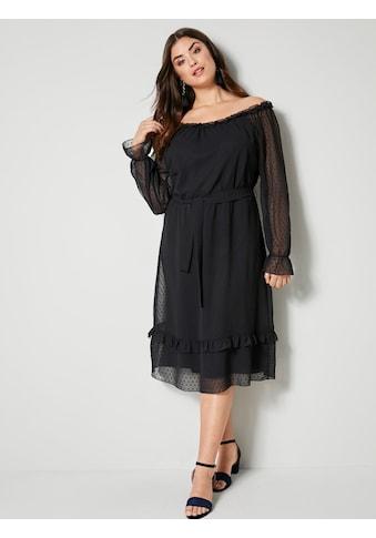 Angel of Style by HAPPYsize Kleid mit Spitze kaufen