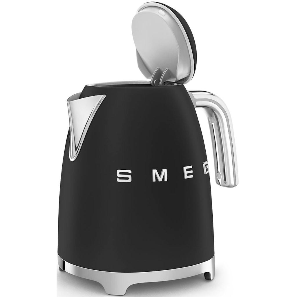 Smeg Wasserkocher »KLF03BLMEU«, 1,7 l, 2400 W