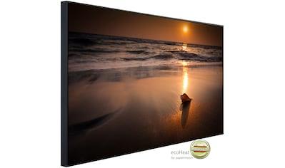 Papermoon Infrarotheizung »Tropischer Strand Sonnenuntergang«, sehr angenehme... kaufen