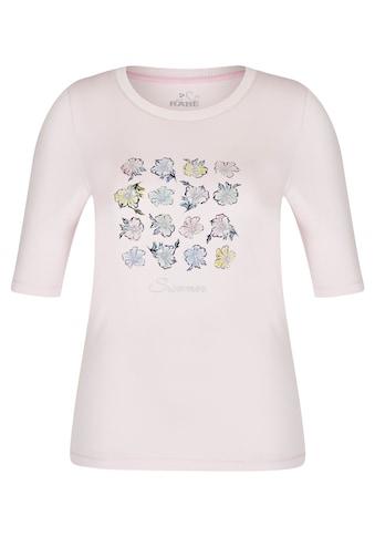 Rabe T-Shirt, mit geblümtem Muster und halblangen Ärmeln kaufen